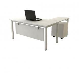 DF72- Custom made Executive L-Shape Desk