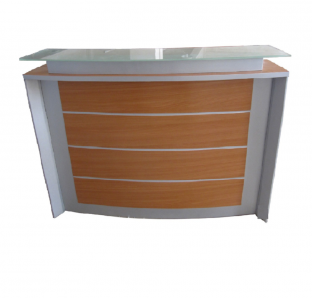 Custom Made Curved Reception Desk
