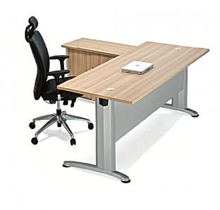 BJS Metal Executive Desk