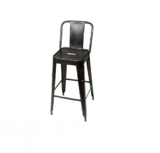 DM-Metal 4 Legged Bar Stool