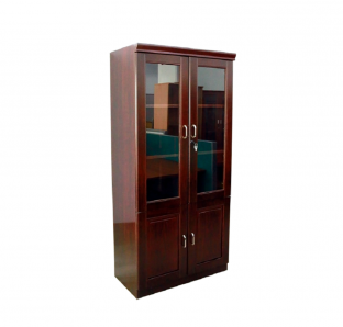 Full Height Cabinet with Glass Door